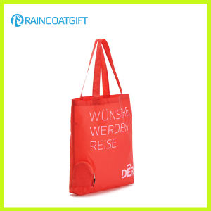 Logo Printed Promotion Nylon Shopper Handbag pictures & photos