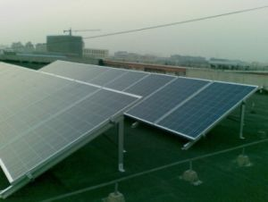 Aluminum Ground Mounting System for Solar Panels