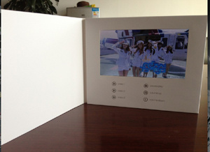 7 Inch Promtional Video Brochure, Occasion Video Card, Video Memory Card, Video Card with TFT Display