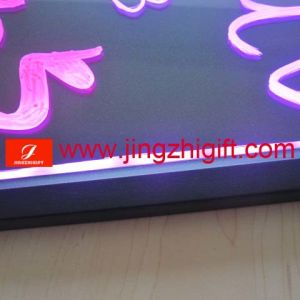 china flashing led menu board with remote controller jzf 57