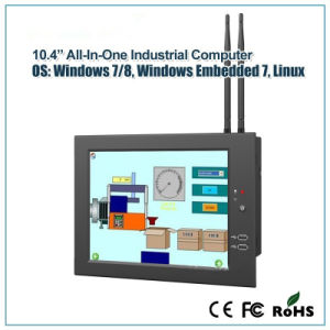 "10.4"" Fanless Mini PC with 1.86GHz Dual-Core for Industrial Application pictures & photos"