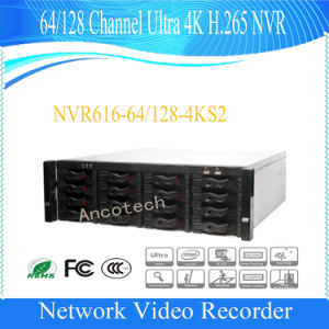 128 Channel Ultra 4K H. 265 CCTV Recorder for Dahua NVR (NVR616-128-4KS2) pictures & photos