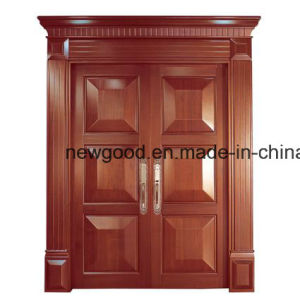 Solid Wood Door for Villas Villa Main Door Villa Room Door