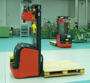 China Laser Guidance Forklift Agv Laser Guided Vehicles