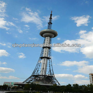 CCTV Steel Pole TV Tower, Stand and Broadcast Tower