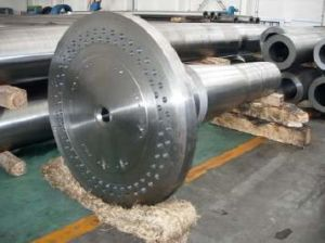 Forged Steel 4140 Roller Shaft with ISO, Forged Steel Round Bar pictures & photos