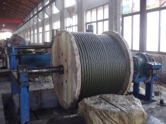 Yellow Grease Coated Steel Wire Ropes (6X25Fi+IWRC) pictures & photos