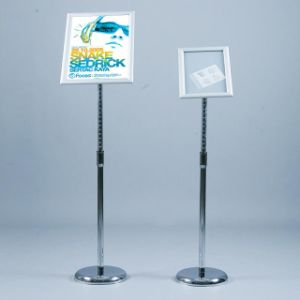 Restrant Changed Portable Display Stand