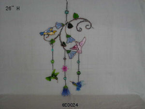 Wind Chime, Bird Craft, Stained Glass (GE0024)