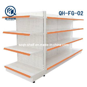 Punching Supermarket Gondola Rack (QH-FG-02)