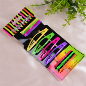 22 Pieces Card Packed Painted Metal Hair Bob Pins (JE1013) pictures & photos