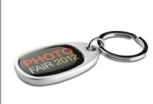 Customized Metal Keychain with Dome Logo or Laser Logo Existing Mold pictures & photos