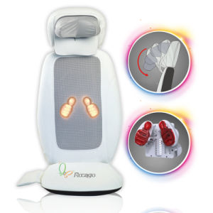 Vibrating Heated Car Seat Back Massage Cushion