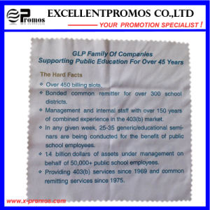 Promotional Logo Printed Cheap Microfiber Clean Clothes (EP-C57312) pictures & photos