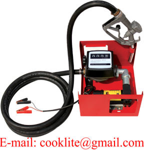 12V DC Portable Diesel Transfer Pump 175W Chemical Food Industry 50HZ 4500 r//min