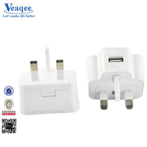 UK Plug USB Charger for Mobile Phone