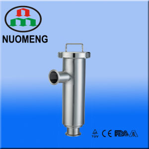 Sanitary Stainless Steel Clamped Angle Type Strainer (SMS-No. NM100205) pictures & photos