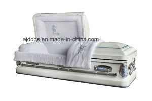 White Shaded Blue Coffin (18238239)