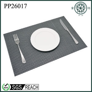 PVC Plain Weaving Mats Rectangle Square Round Placemats