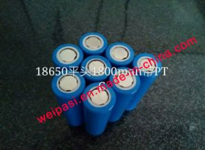 3.7V 800mAh, Lithium Battery, Li-ion 18650, Cylindrical, Rechargeable pictures & photos