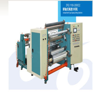 Unload Shaft Style High Speed Slitting Machine pictures & photos