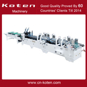 High Speed Folder and Gluer Machine Model Gk-Pck pictures & photos