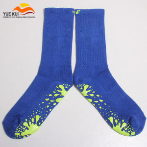 OEM Custom Made Logo Grip Rubber Yoga Non Slip Sock