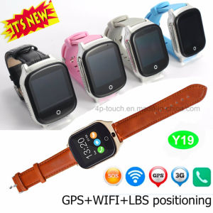 3G WiFi Adults GPS Tracker Watch with Sos Button pictures & photos