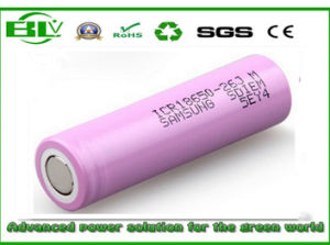 Li-ion Battery 2600mAh 3.7V 18650 Power Tool Battery Samsung 26jm pictures & photos