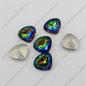 Wholesale Vitral Medium Heart Jewelry Garment Stone for Garment Accessories pictures & photos