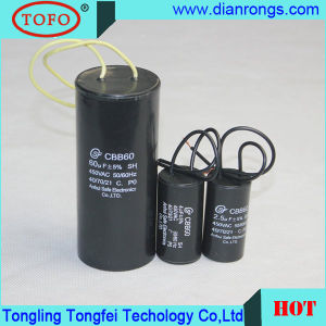 4UF 350VAC Capacitor Cbb60 for Water Pump Use pictures & photos