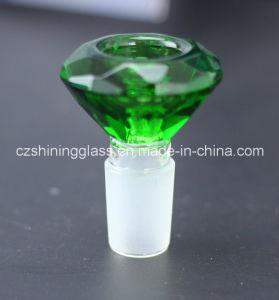 Hot Sale Different Design Glass Water Pipe Herb Bowl Glass Bowl by Shining Glass pictures & photos