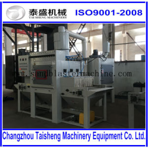 Conveyer Automatic sandblasting machine/Stone Automatic sandblast machine