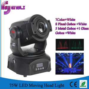 75W LED Spot Moving Head Lighting for Stage Disco Party