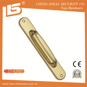 High Quality Brass Door Lock Handle-27k702 pictures & photos