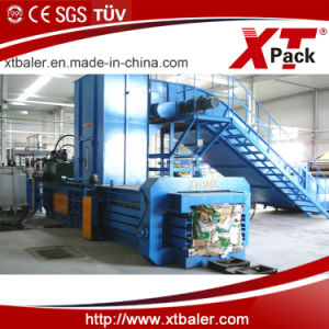 Full Automatic Baler for Cardboard/Automatic Baling Machine/Baler for Recycling Center