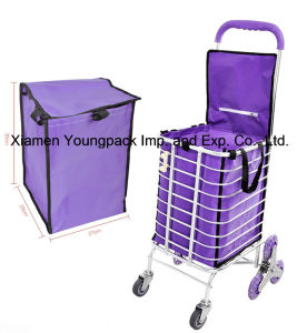Promotional Custom Reusable Grocery Shopping Cart Insert Bag pictures & photos