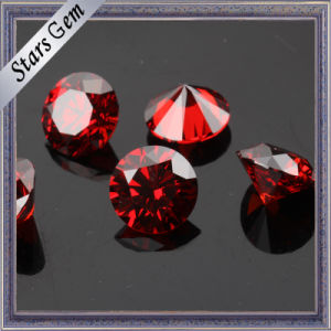 Wuzhou Original Wholesale Garnet Red CZ Diamond pictures & photos
