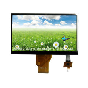 "Highbrightness Outdoor Use7"" TFT Display, Resolution 800X480, with Capactive Touch Panel, ATM0700d6-CT"