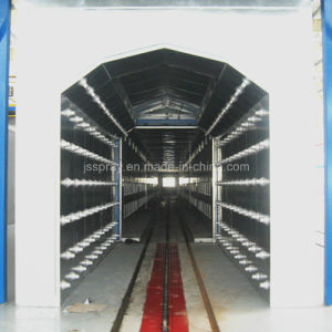 Complete Painting Production Line with Cold Coolingchamber