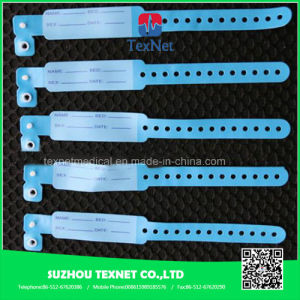 CE Approved Disposable Adult ID Band with Different Color