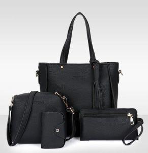 9537f5a2e9 Women Bag Set Top-Handle Big Capacity Female Tassel Handbag Fashion Shoulder  Bag Purse Ladies