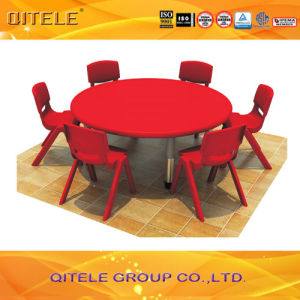 School Children Plastic Table With Stainless Steel Table Leg (IFP 007)