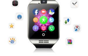 GSM Smart Watch Mobile Phone Wrist Arc Screen Cameras