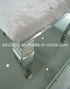 Stainless Steel Frame Soft Fabric Chair Cy125 pictures & photos