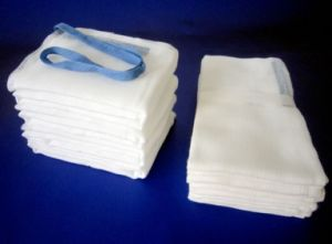 Non-Sterile Lap Sponge with X-ray (Abdominal Pads) pictures & photos