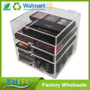 3 Drawers Makeup Storage Box Organizer for Vanity Tables pictures & photos