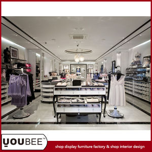 Retail Ladies′ Lingerie Shop Interior Design with Fashion Display Showcases