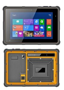 8 Inch Windows Rugged Mobile Computing Devices With 2d Barcode Scanner And Finger Print