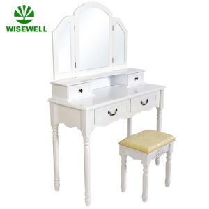 China 3 Fold Mirror Set Classic Shaker Dressing Table Furniture W